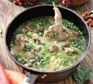 Суп с перепелами рецепт