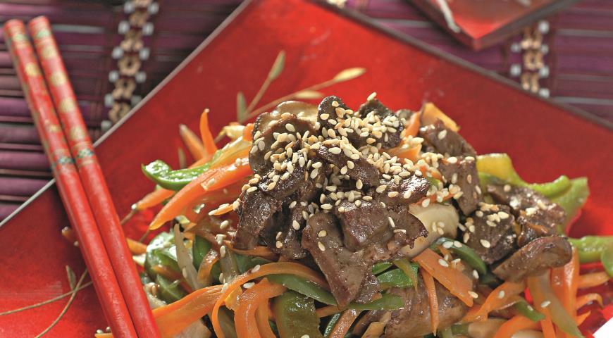 Рецепт Почки в китайском стиле