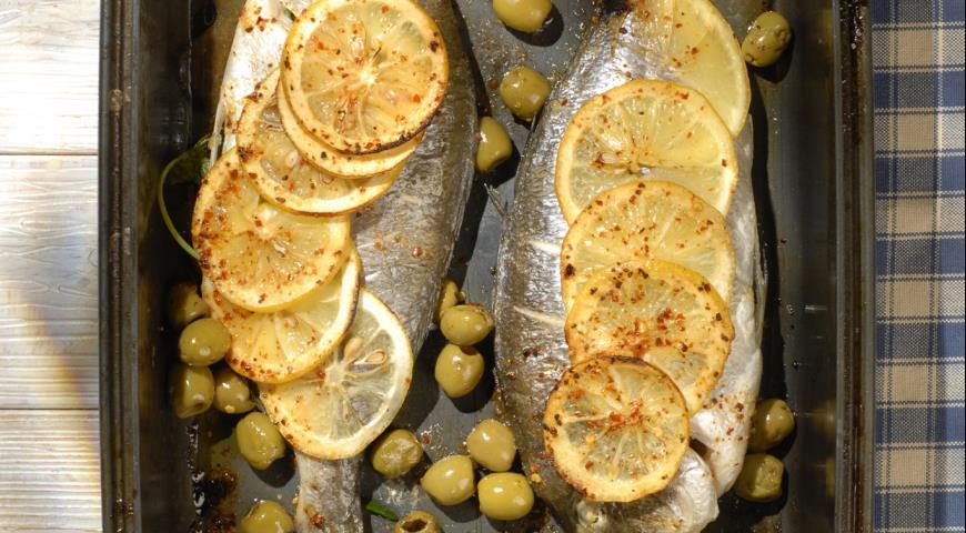 Рецепт Дорада по-мароккански в духовке