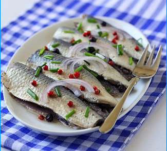 Рецепт Маринованные сардины