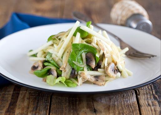 Рецепт Теплый салат с сельдереем