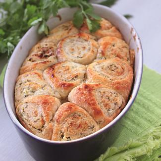Рецепт Пирог «сырные булочки»