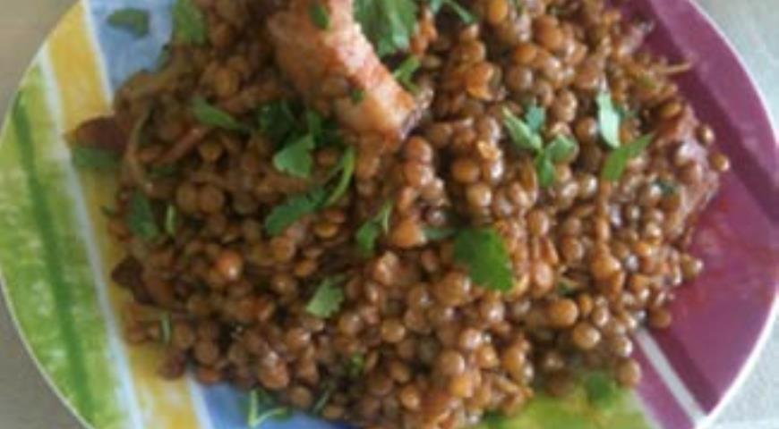 зеленая чечевица рецепты приготовления с фото