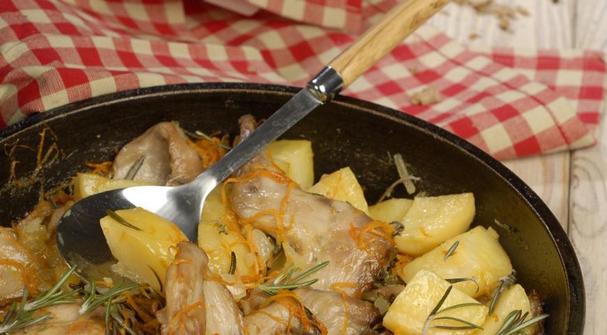 Рецепт Кролик с каперсами по-сицилийски