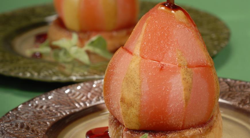 Рецепт Груши, фаршированные сыром