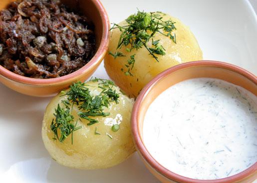 Картофель отварной с пошаговым фото