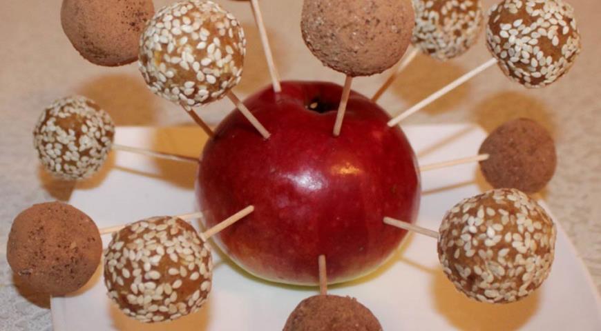 Рецепт Марципановые конфеты из нута, миндаля и фиников
