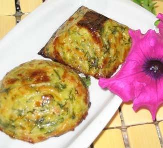 Рецепт Маффины из цукини с сыром