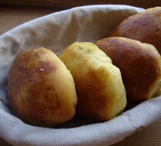 Рецепт Тыквенные пирожки с паштетом