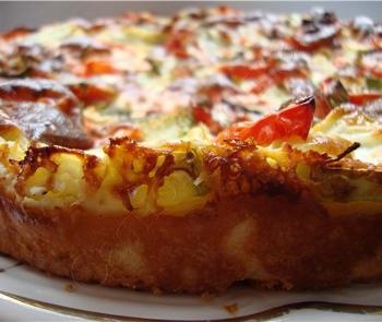 Рецепт Пирог с цуккини