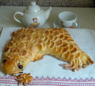 Рецепт Пирог Золотая рыбка