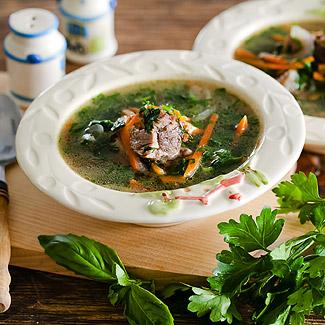 Рецепт Суп из огородной зелени в мультиварке
