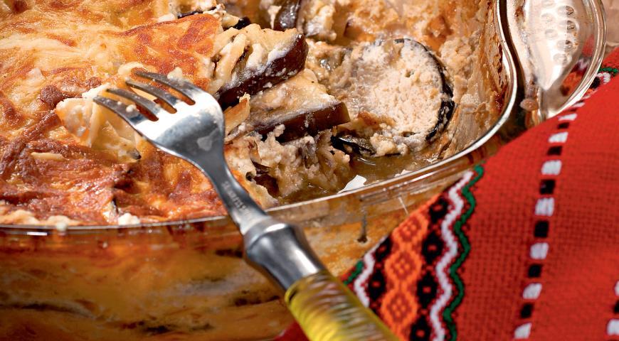Рецепт Баклажаны с сыром по-балкански