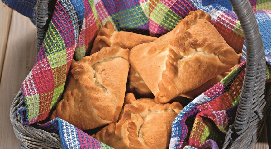 Рецепт Пирожки с ореховой начинкой