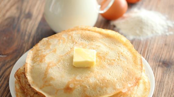 Рецепты блинов на молоке с фото