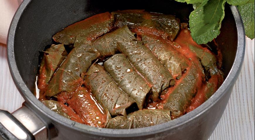 Рецепт Долма с овощами и орешками