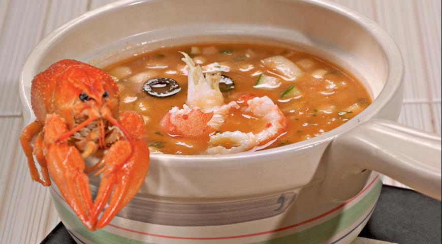 Суп из раков рецепт