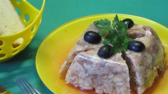 Куриный сальтисон в мультиварке, пошаговый рецепт с фото
