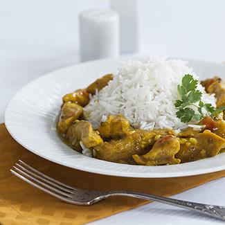 Рецепт Курица по-индийски в мультиварке