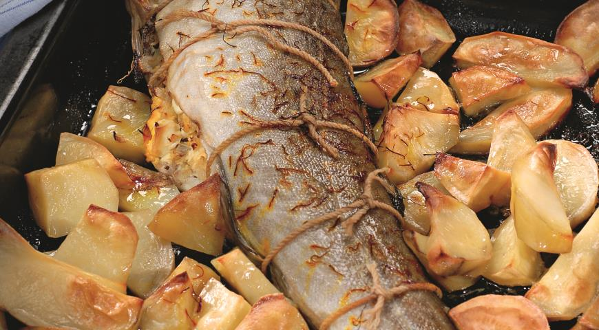 рецепт Фаршированная фото пошаговый рыба с