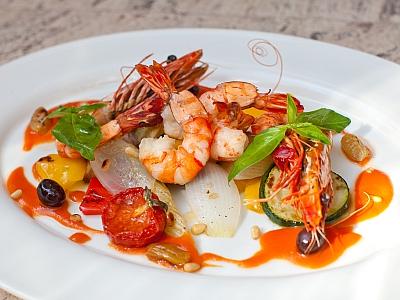 блюда из морепродуктов фото