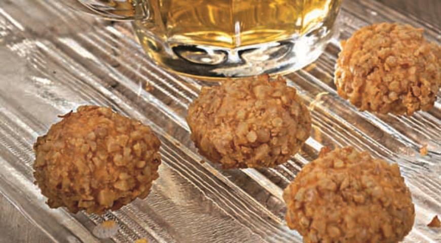 Рецепт Сырное печенье с грецкими орехами