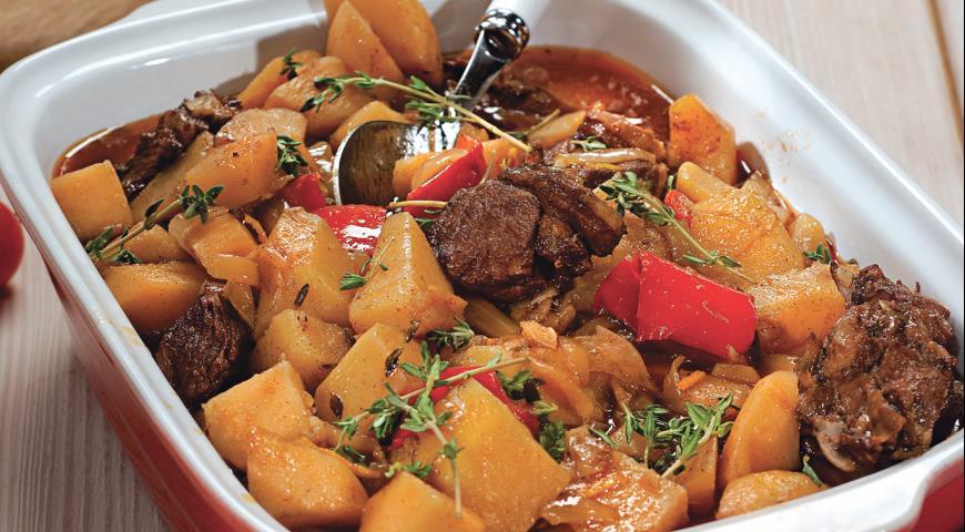 Рецепт Баранина по-провански