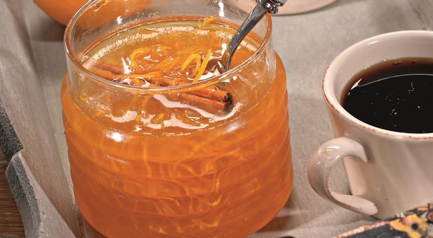 Рецепт Джем из апельсиновой цедры