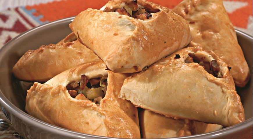 Рецепт Пирожки со свининой и картофелем