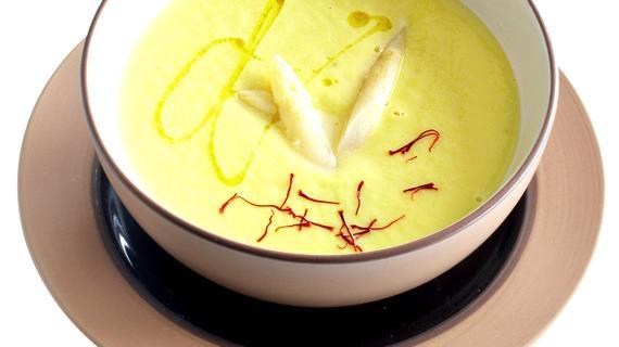суп из спаржи рецепт с фото