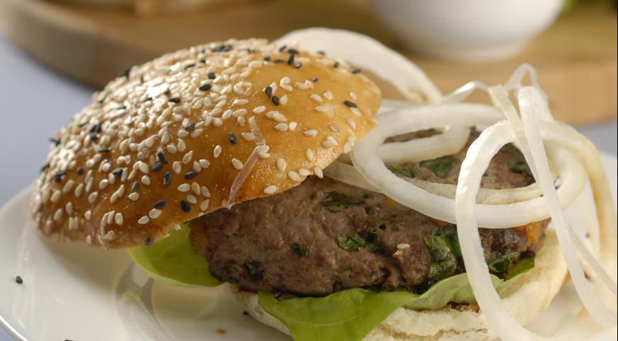 Рецепт Гамбургеры с курагой