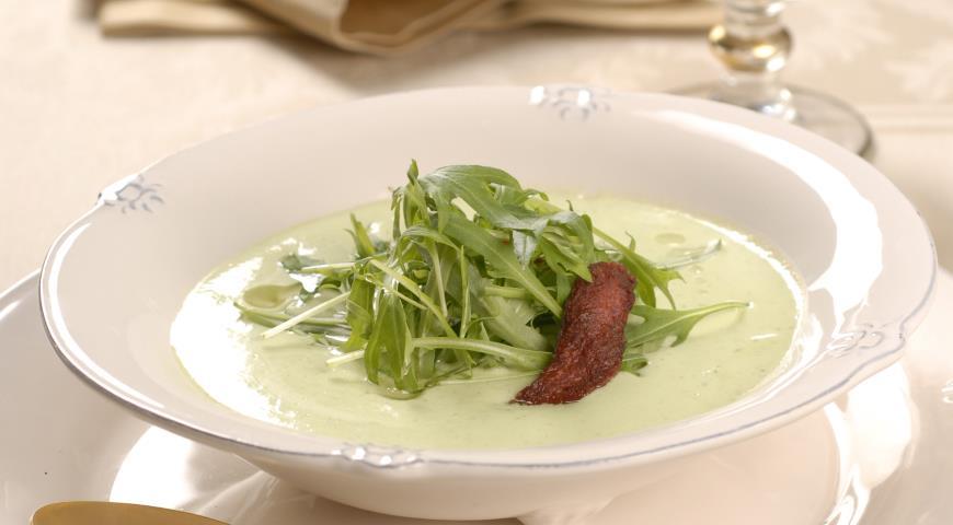 Рецепт Суп-пюре из руколы