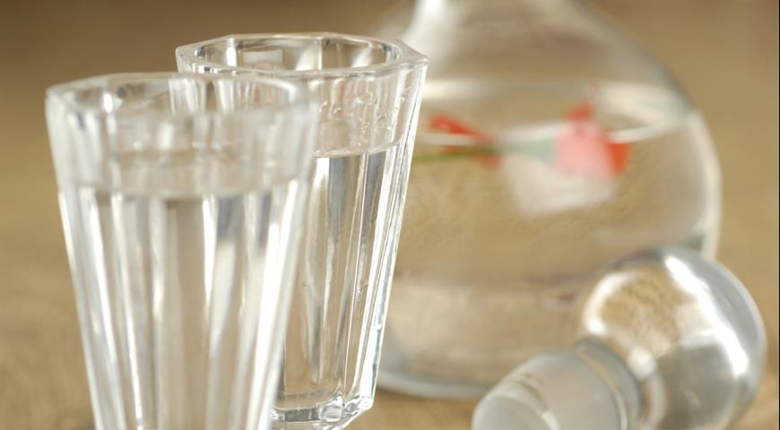Рецепт Водка с чили