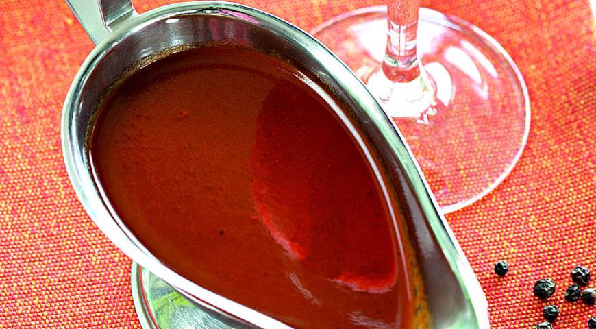 Рецепт Винно-овощной соус