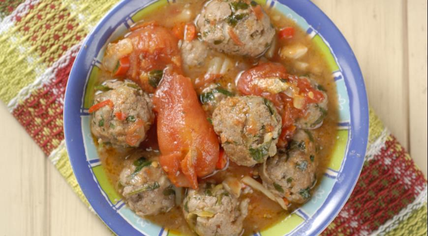 Рецепт Альбондигас, фрикадельки по-испански