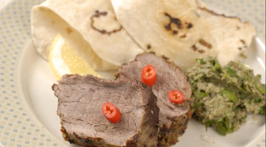Рецепт Говядина-гриль с гуакамоле