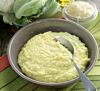 Рецепт Фальшивое картофельное пюре с сыром