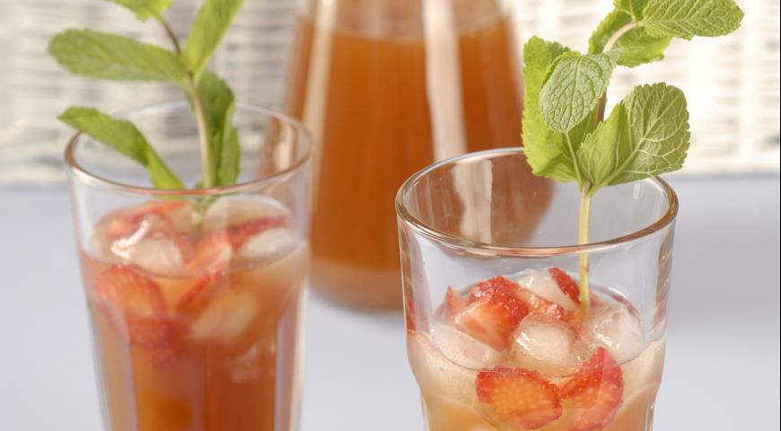 Рецепт Ледяной фруктовый чай