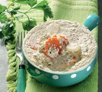 Рецепт Флан из моркови и кольраби