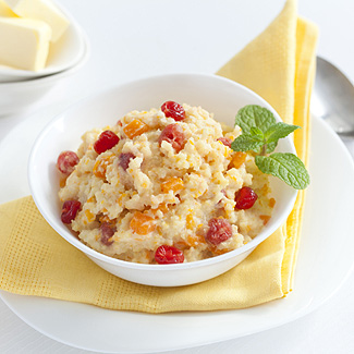 Рецепт Пшенная каша с тыквой, корицей и вяленой вишней в мультиварке