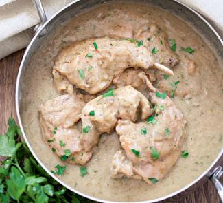 Рецепт Кролик в хлебном соусе