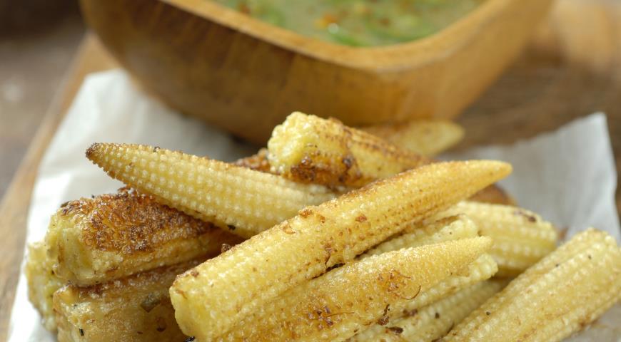рецепт закуски из початков кукурузы