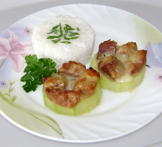 Рецепт Мясо Графские развалины