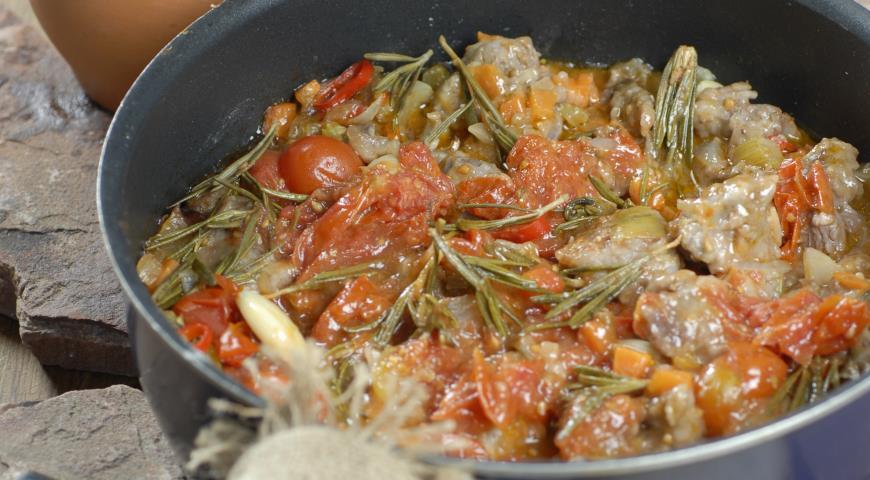 Рецепт Тосканское мясное рагу