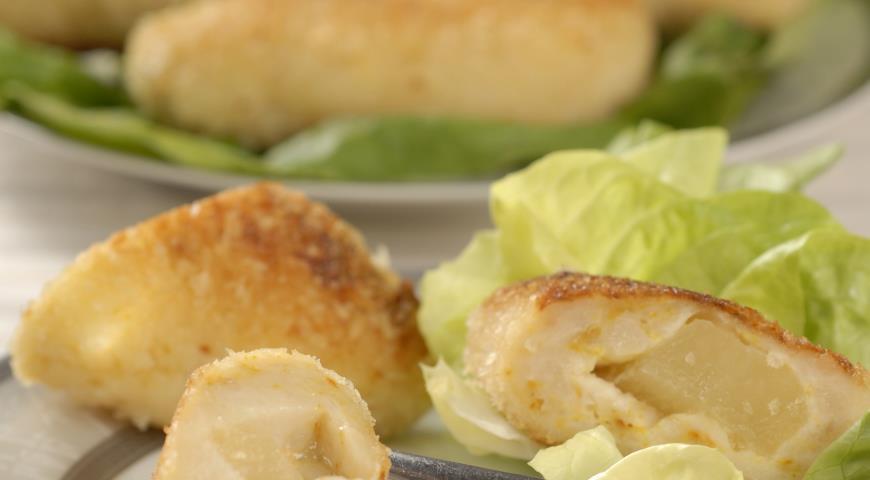 Рецепт Куриные котлеты с ананасом
