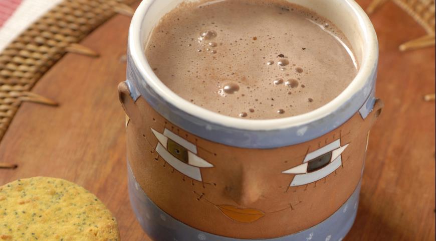 Рецепт Горячий шоколад по-мексикански