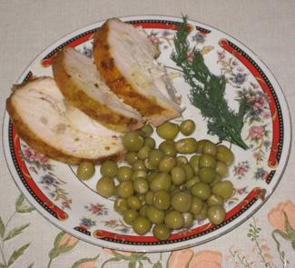 Рецепт Пастрома из грудки индейки или курицы