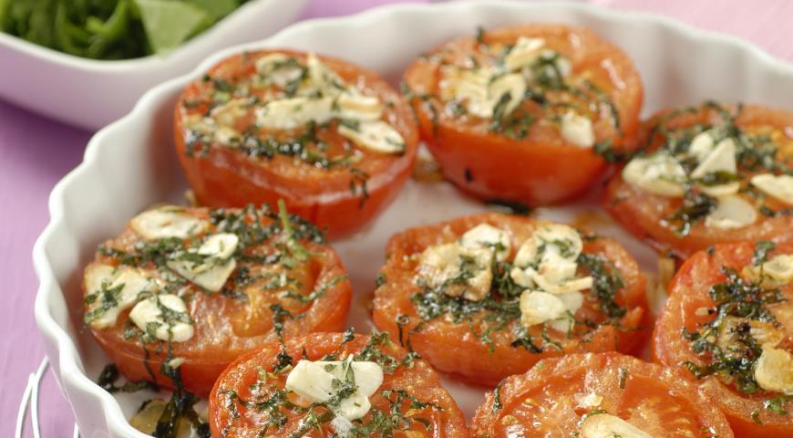 Рецепт Печеные помидоры