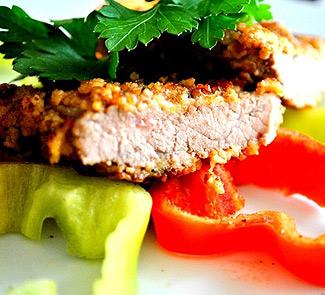 Рецепт Ромштекс на овощной подушке
