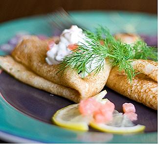 Рецепт Блины закусочные Традиционные